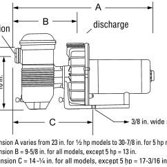 Pool Pump Setup Diagram 2005 Crf50 Wiring Pentair Challenger High Flo Pumps Marin Service