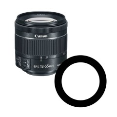 Ikelite 0923.11 Anti-Reflection Ring for Canon 18-55mm Lens