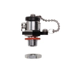 Ikelite 47001 Vacuum Valve for 1/2 Inch Accessory Port and DSLR Top Mount