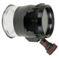 Ikelite 5508.05 Flat Port mit Fokus für SLR Gehäuse für Nikkor 105mm Objektiv