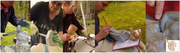 Bildhauerkurs mit Stein - Entdecke Dein Hobby