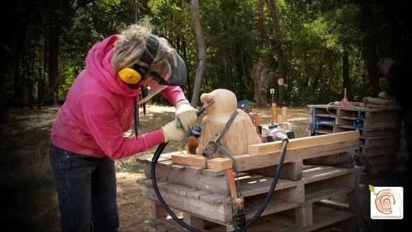 Kunst aus Holz lernen