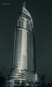 Bldg near Burj Khalifa