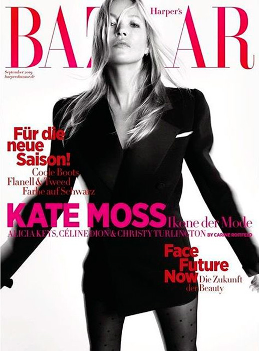 Kate Moss  #septemberissue 2019