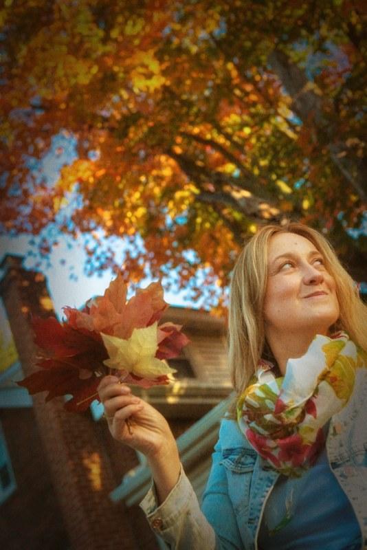 Ewa Kulak en otoño