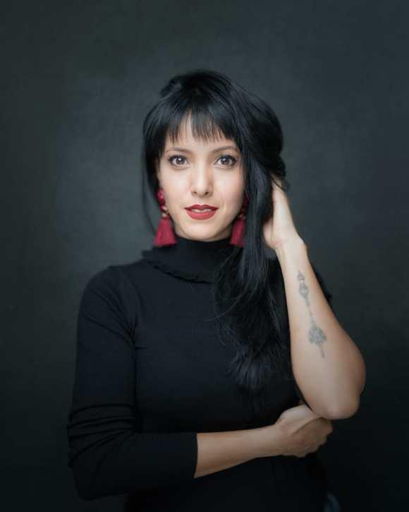 Retrato de alta resolución de Luisa Fernanda Moreno