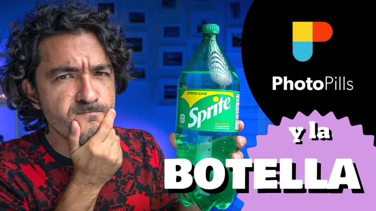 Mario Carvajal te explica cómo usar PhotoPills para hacer la foto al interior de una botella de Sprite