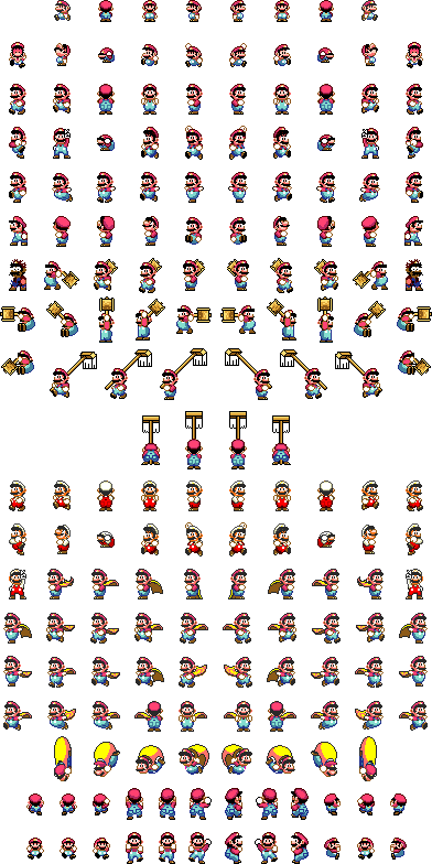 Super Sprite Mario Sheet