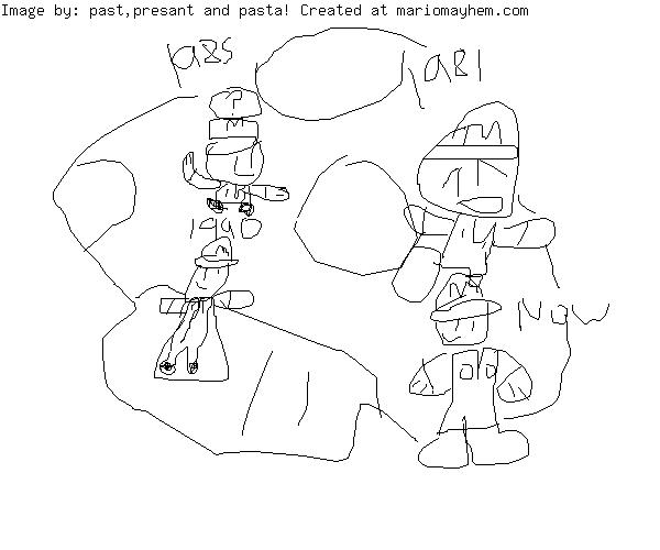 Draw Mario!