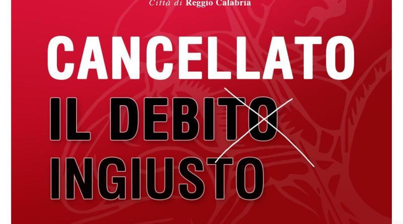 Comune di Reggio, è clamoroso: cancellato l'odioso debito ereditato