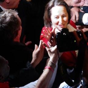 Meeting de Ségolène Royal pour les primaires du PS, Le Bataclan, Paris, 6/10/2011