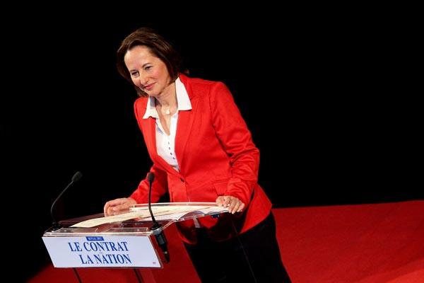 Meeting de SŽégolène Royal pour les primaires du PS