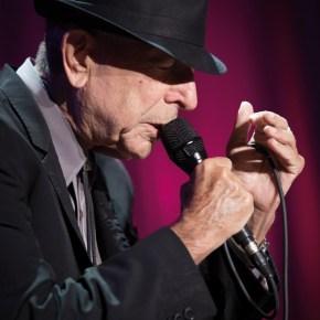 Leonard Cohen, Bercy, Paris, 18/06/2013