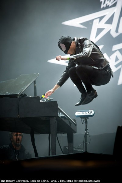 The Bloody Beetroots - Rock en Seine 2013