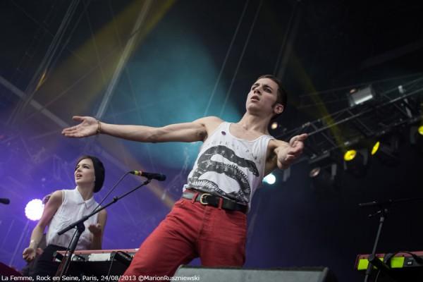 La Femme - Rock en Seine 2013