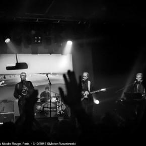 The Sonics, La Machine du Moulin Rouge, Paris, 17/10/2015