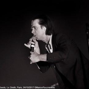 Nick Cave & The Bad Seeds, Le Zénith, Paris, 04/10/2017