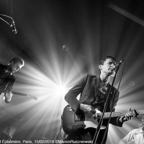 EUT & Crocodiles, Le Point Éphémère, Paris, 15/02/2019