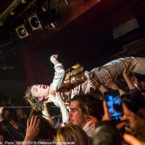 Howlin' Jaws, The Schizophonics & Yak, Les Nuits de L'Alligator, La Maroquinerie, Paris, 18/02/2019