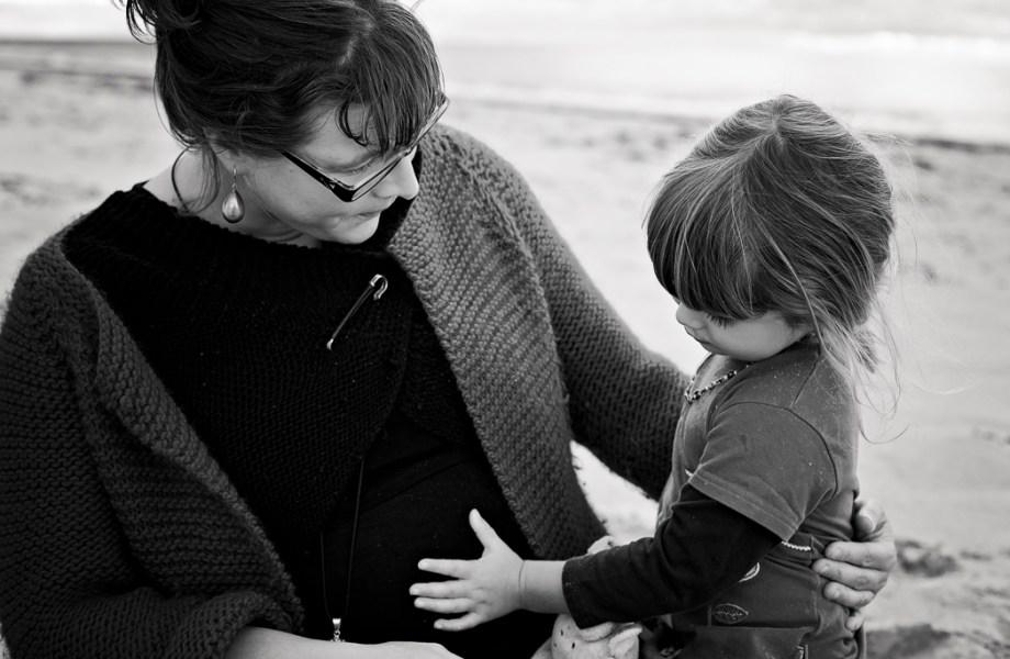 Séance photo grossesse manche – Bricqueville-sur-mer