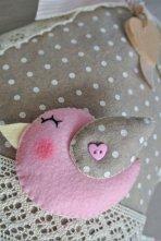 Fiocco nascita casetta rosa
