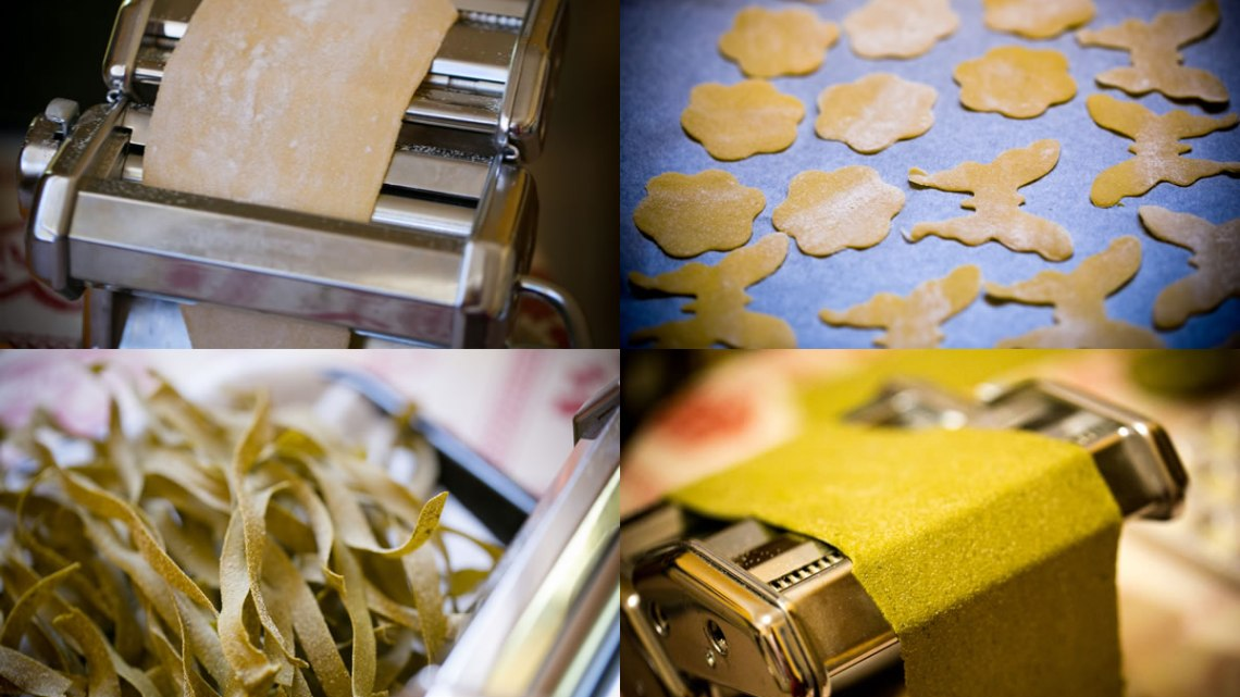 Home-made fresh pasta