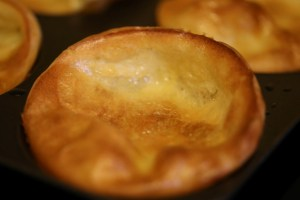 photo of a yorkshire pudding