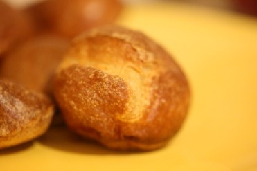 photo of a mini yorkshire pudding