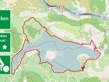 around salagou lake mountain bike