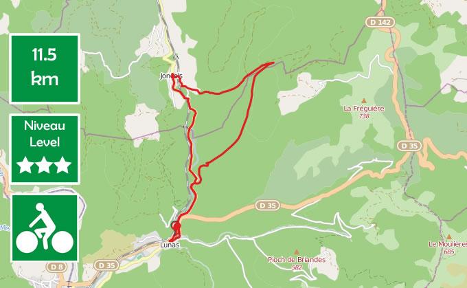 Hillsides of Lunas mountain bike ride