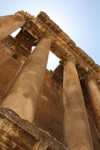 photo of the temple of jupiter at baalbek lebanon