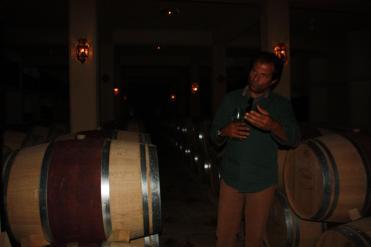 phoyo of Sami Ghosn in the Massaya Winery
