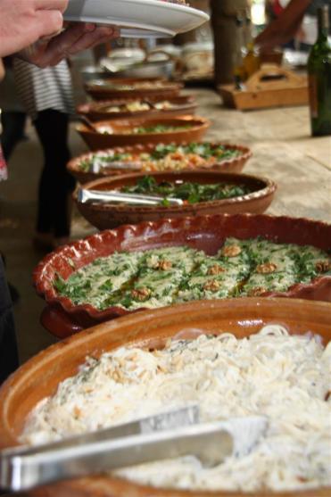 photo of Lebanese Food at Massaya Winery