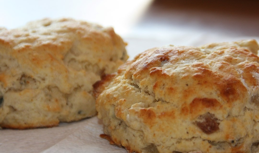 Perfectly fluffy scones