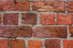 Red bricks in Liverpool