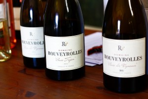 bouteilles de vin du Mas de Rouveyrolles