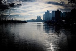 photo of the Vancouver harbour