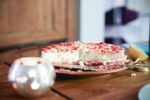 cheesecake découpé