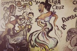 wall painting in Little Havana, Miami