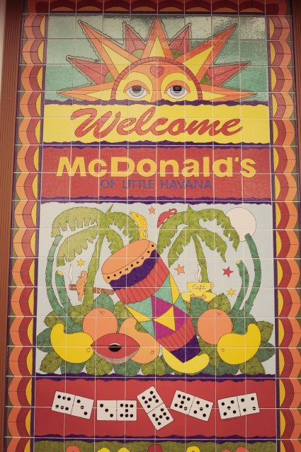 Mc Donald's, Little Havana, Miami
