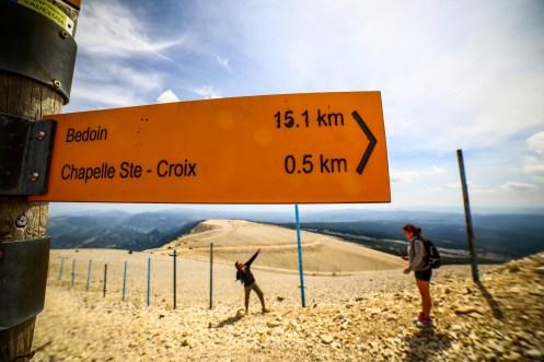 Le pic du Mont Ventoux