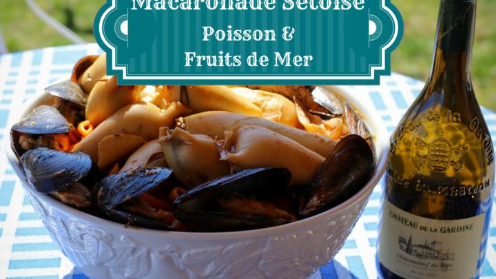 Macaronade sétoise au poisson et fruits de mer🌊🐟🦑🦐🍅🌶️