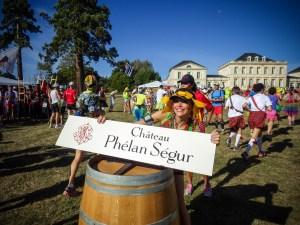 Château Phélan Ségur at the Médoc Marathon