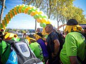 supporters marathon du Médoc