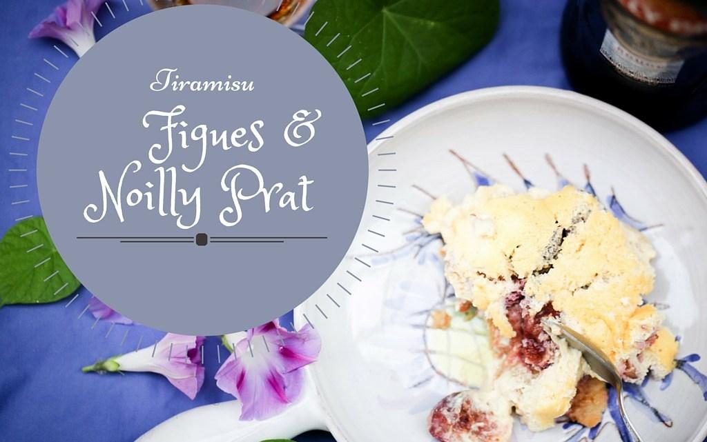 Honey roasted figs & Noilly Prat Tiramisu