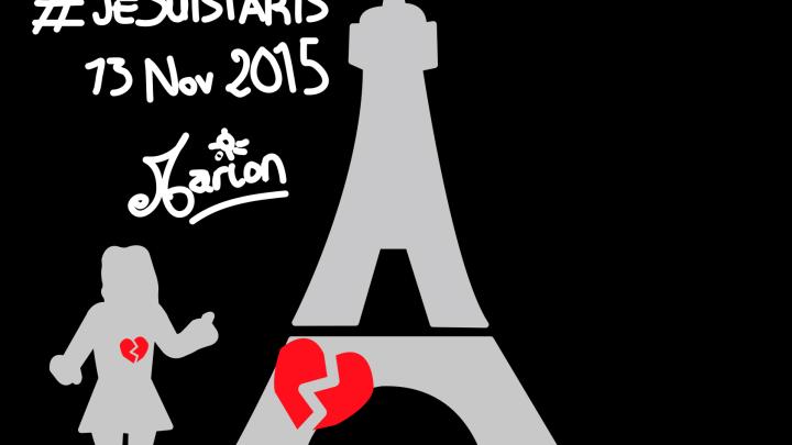 #Pray4Paris #Je suis Paris