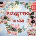 PIZZETTES (mini pizzas) de Noël