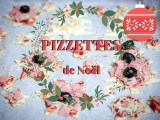 PIZZETTES (mini pizzas) de Noël