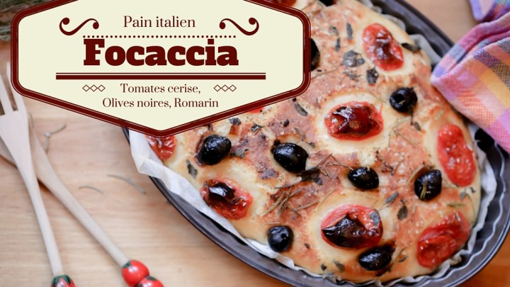 Cherry Tomatoes, Black Olives, Rosemary & Hard Wheat Focaccia