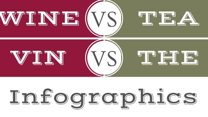 Vin versus Thé (infographie inside)
